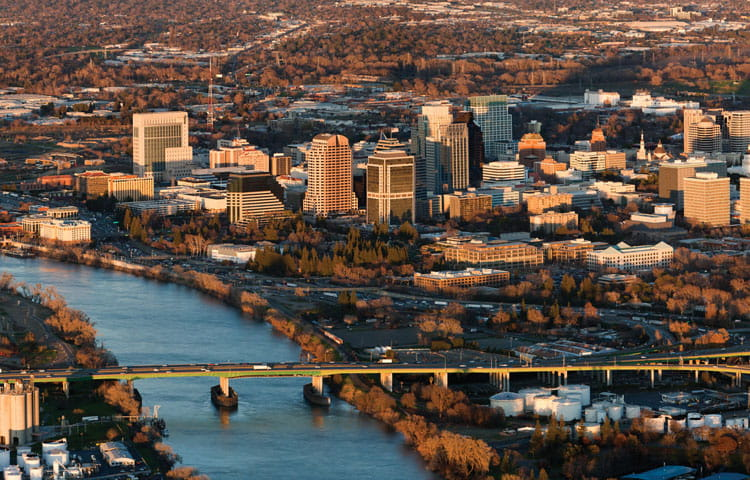Steeped in a rich history is Sacramento.