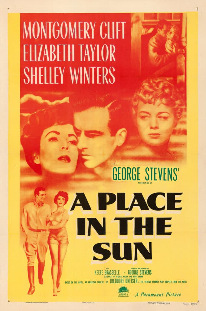 A Place In The Sun 1951 Poster 681x1024