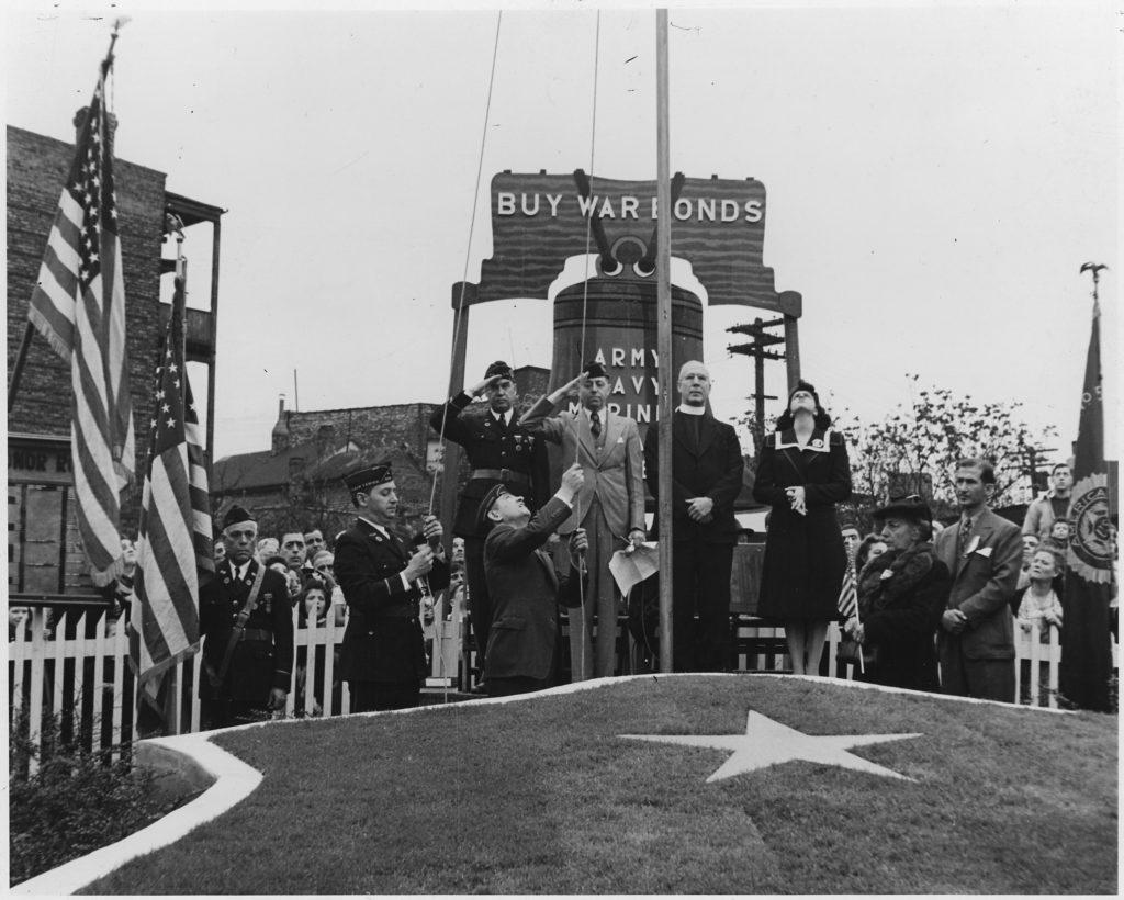 A War Bond Rally During World War II NARA 197250 1024x820