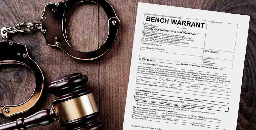 How To Clear A Bench Warrant