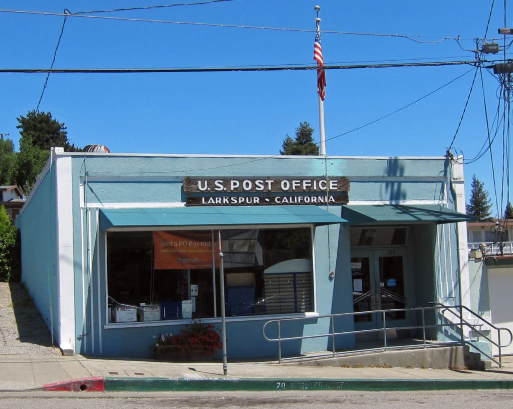 Larkspur Post Office Larkspur California 1024x816