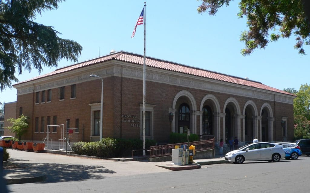Oroville California Post Office From N 1 1024x640