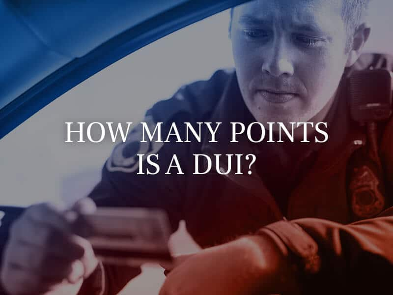 Grahamdonath Oct How Many Points Is A Dui