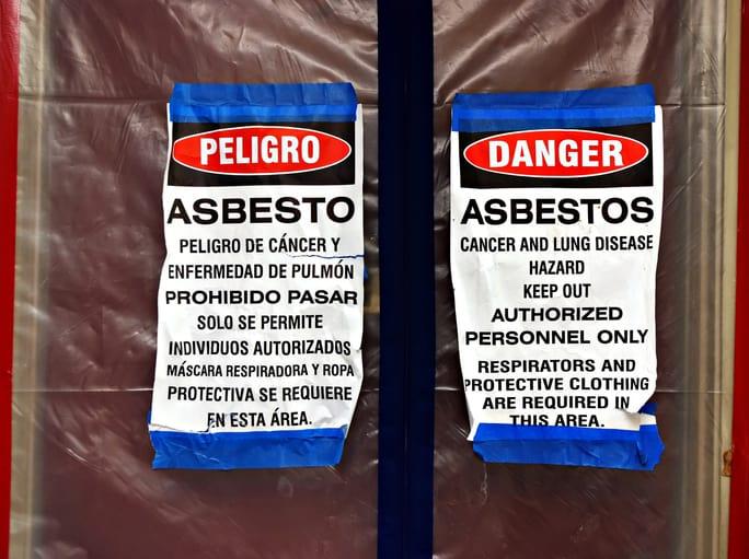 Asbestos Hazard Sign Expert Asbestos Testing Consultant