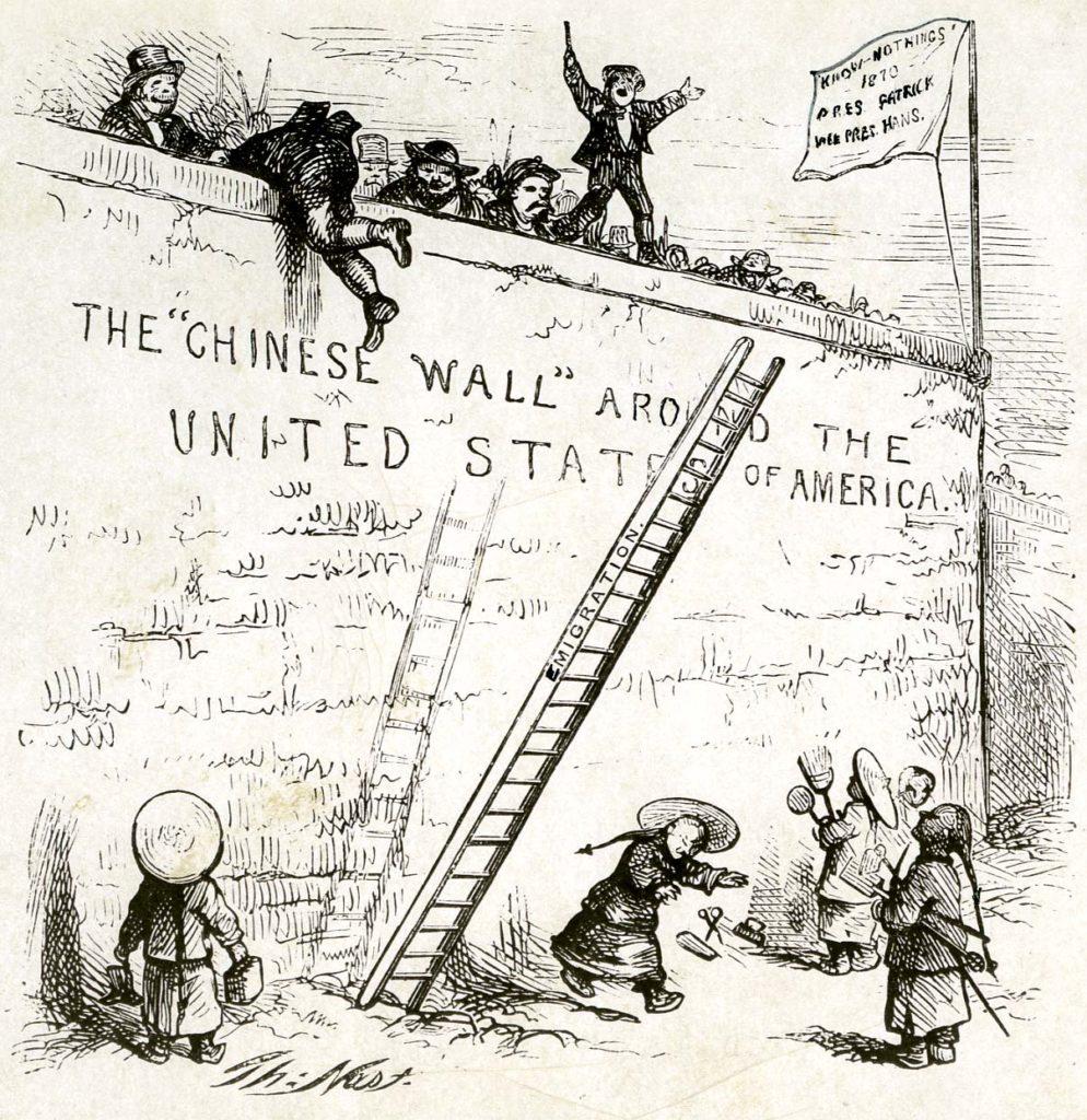 Chinese Irish German Immigration Thomas Nast Harpers Weekly July 23 1870 994x1024
