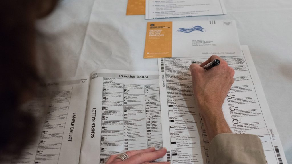 What if i make a mistake on my mail in ballot California