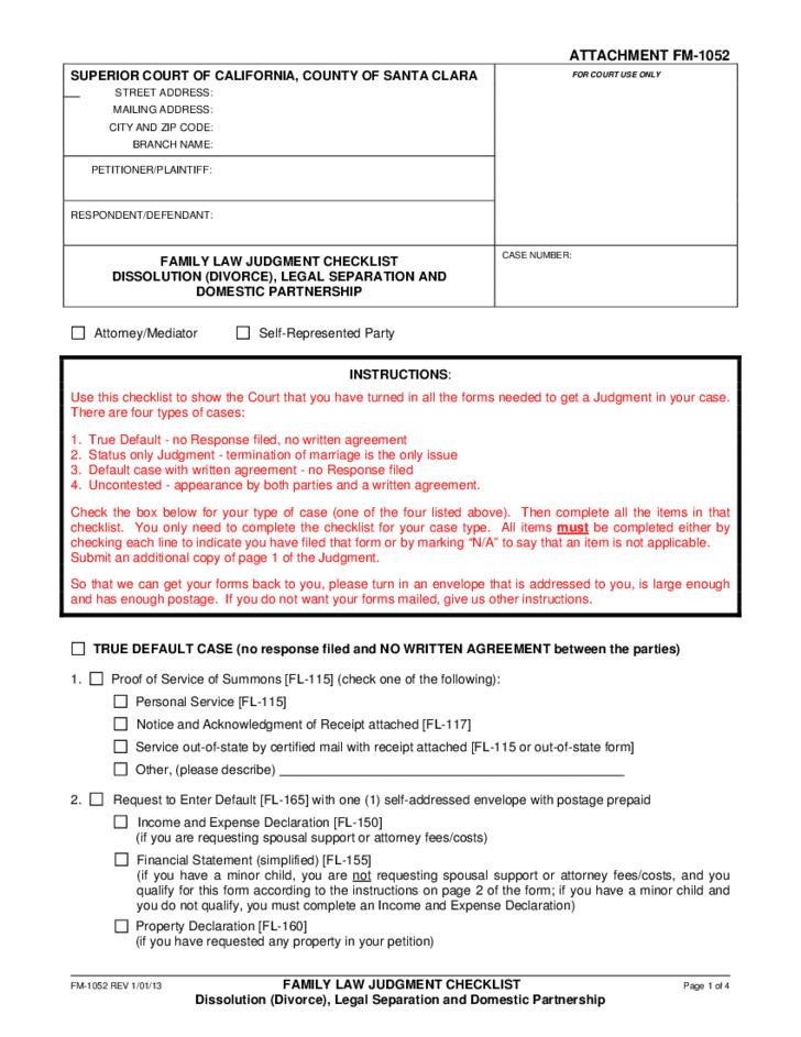 Divorce Or Legal Separation California L1