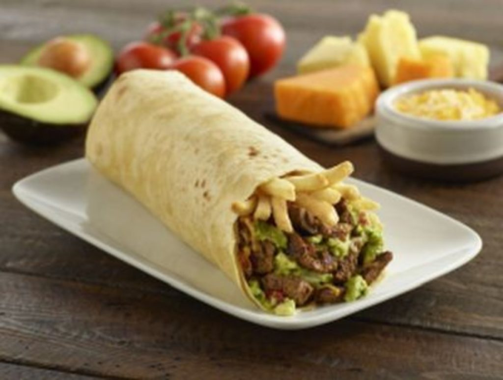 How many calories in California burrito