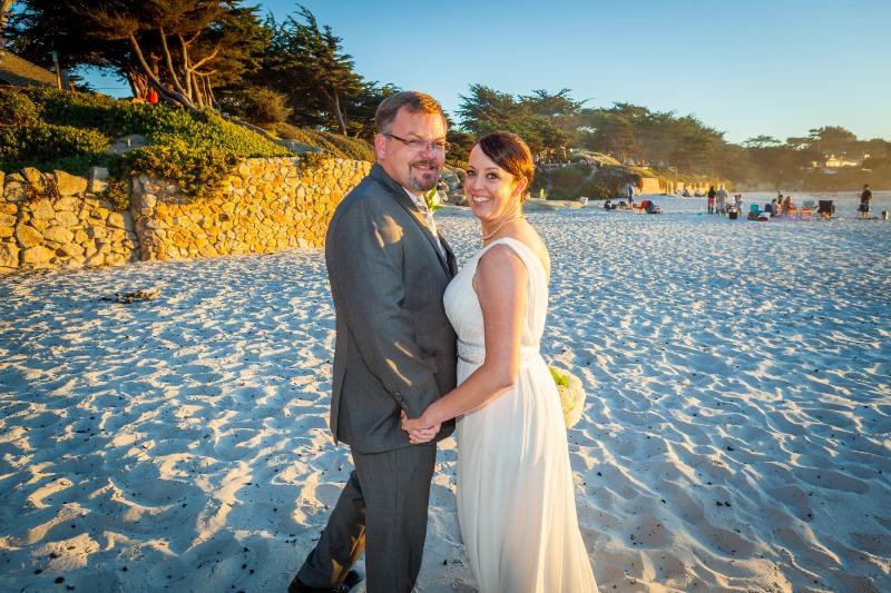 Married Beach Carmel California