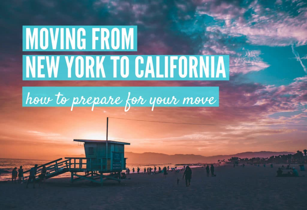 How to move to California from New York