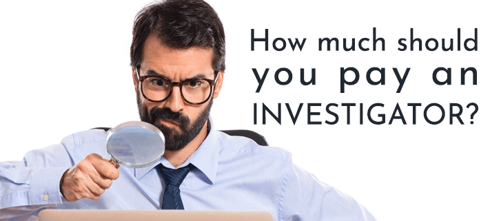 How much does a private investigator cost in California