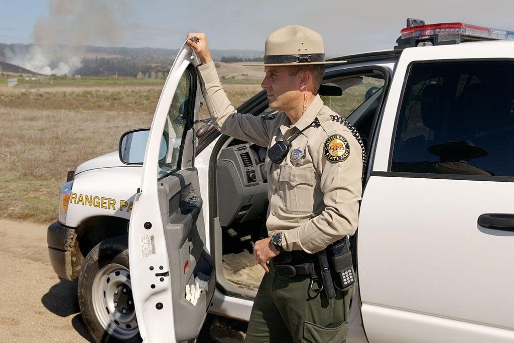 Ranger Exiting Vehicle