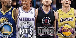 How many nba basketball teams in California