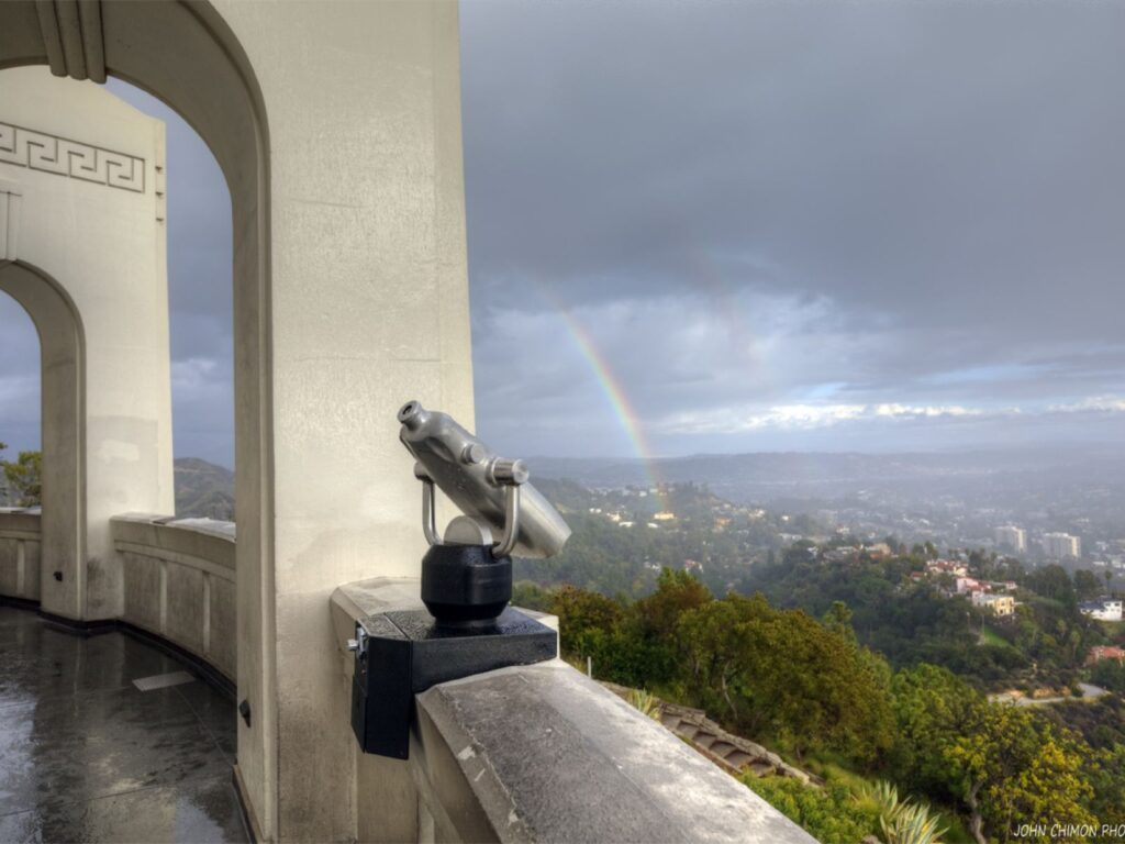 What to do in California when it rains