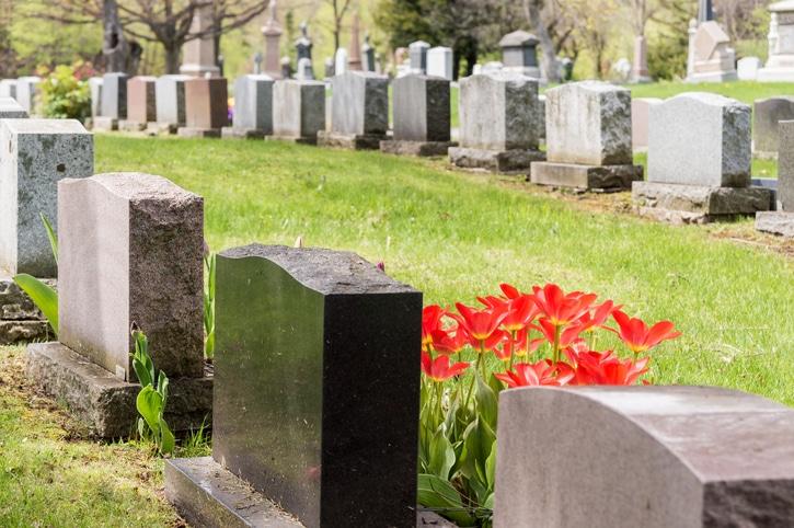 IStock 531331846 Headstones Gravestones In Cemetery
